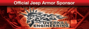 Overkill Engineering -- Official Jeep Armor Sponsor