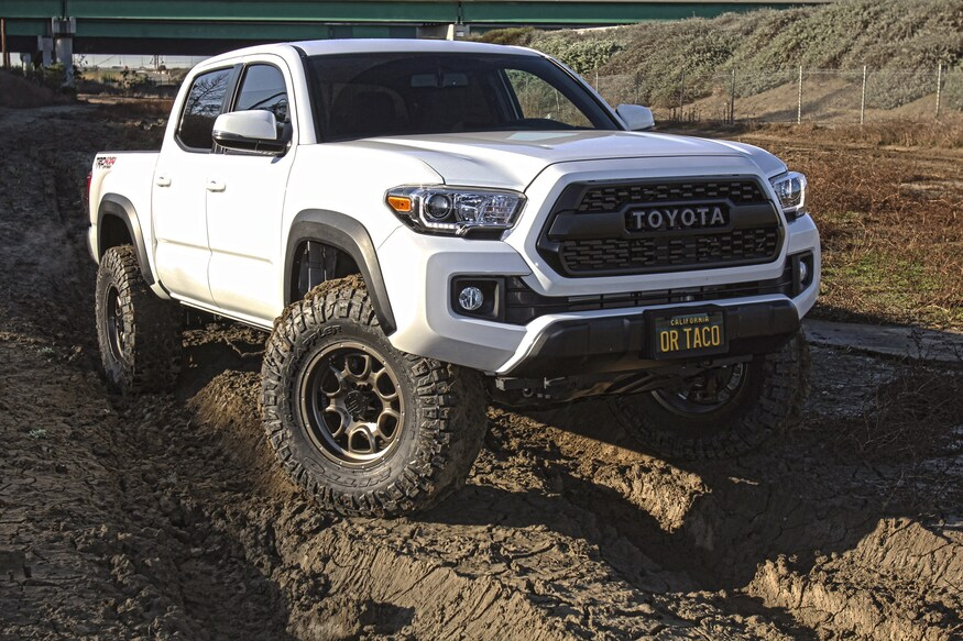 Trail Ready Tacoma Creating Clearance For Our 17 Tacoma S New Wheels And Tires