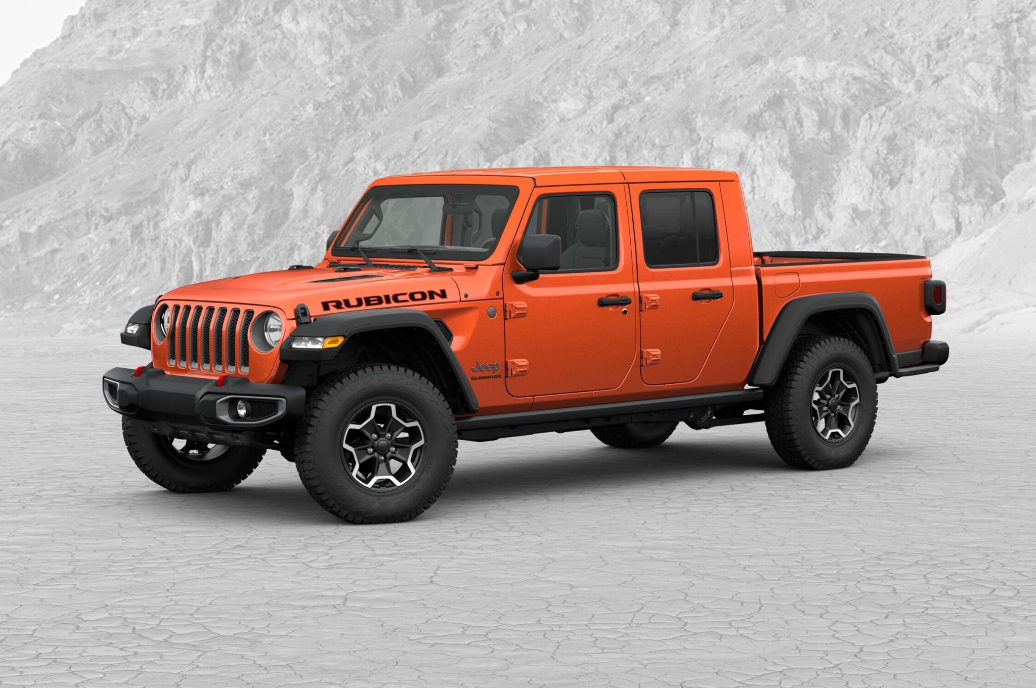 2020 jeep gladiator configurator goes live, no prices