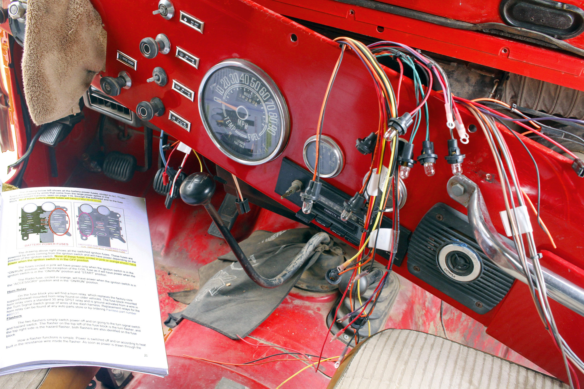 painless cj 5 rewire four wheeler network ford duraspark standalone wiring duraspark ignition and painless wiring harness help #14