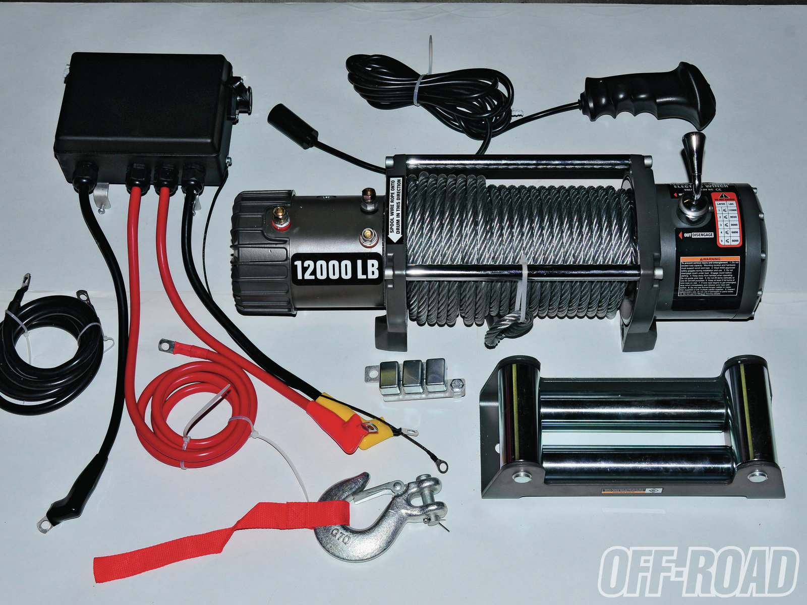 Badlands 12 000-pound Winch