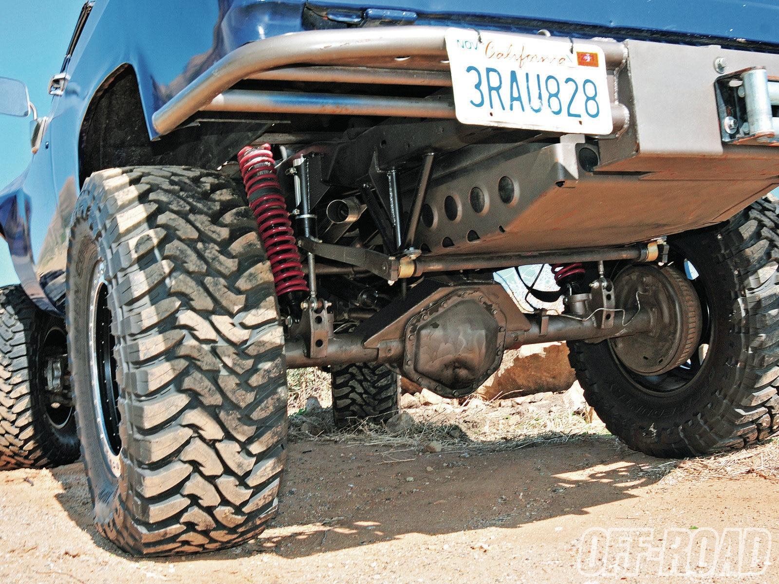 Getting More Aggressive - K5 Blazer Rear Suspension ...