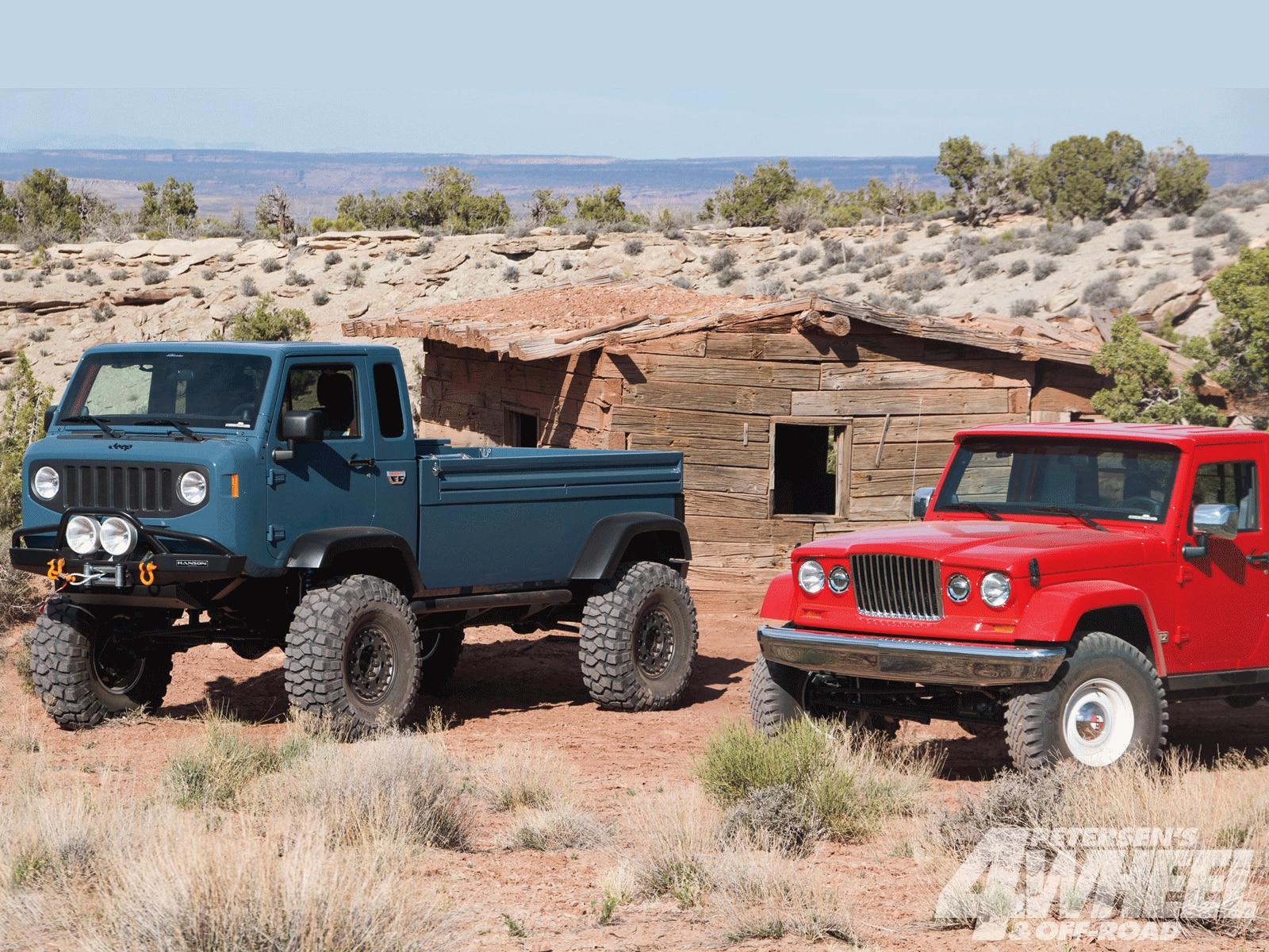 Jeep Trucks Through History