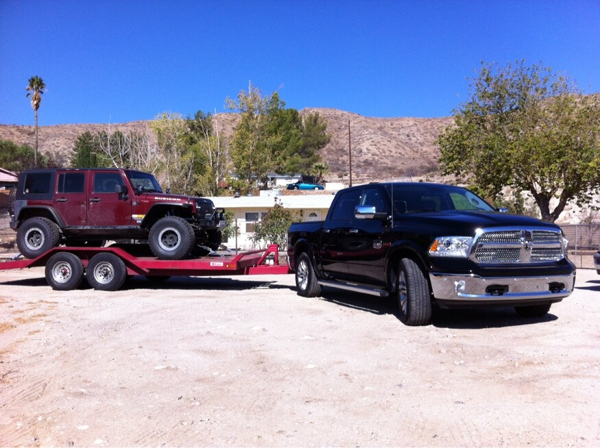 2014 Ram 1500 Ecodiesel Review Towing And Mpg Fuel Economy