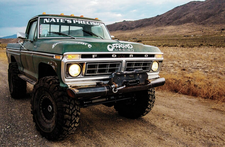 [SCHEMATICS_48DE]  1977 Ford F-150 Wire Harness Install - Wire Transfer | Ford Truck Off Road Light Wiring Diagrams |  | Four Wheeler Network