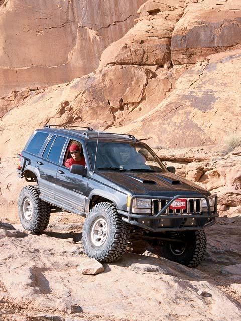 cherokee jeep grand 1998 zj road feat badass custom fourwheeler
