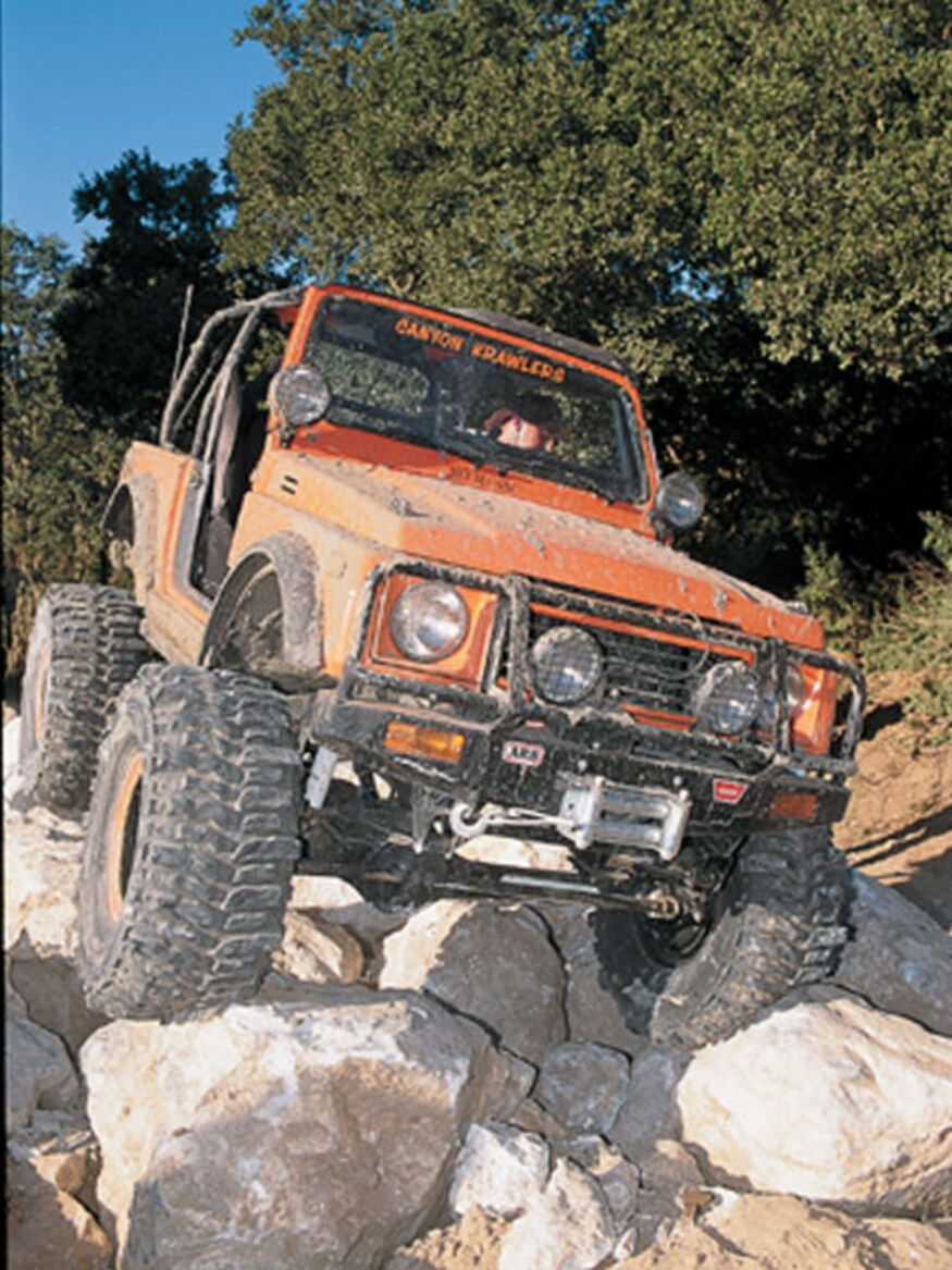 Suzuki Samurai - Four Wheeler Magazine - FOUR WHEELER NETWORK