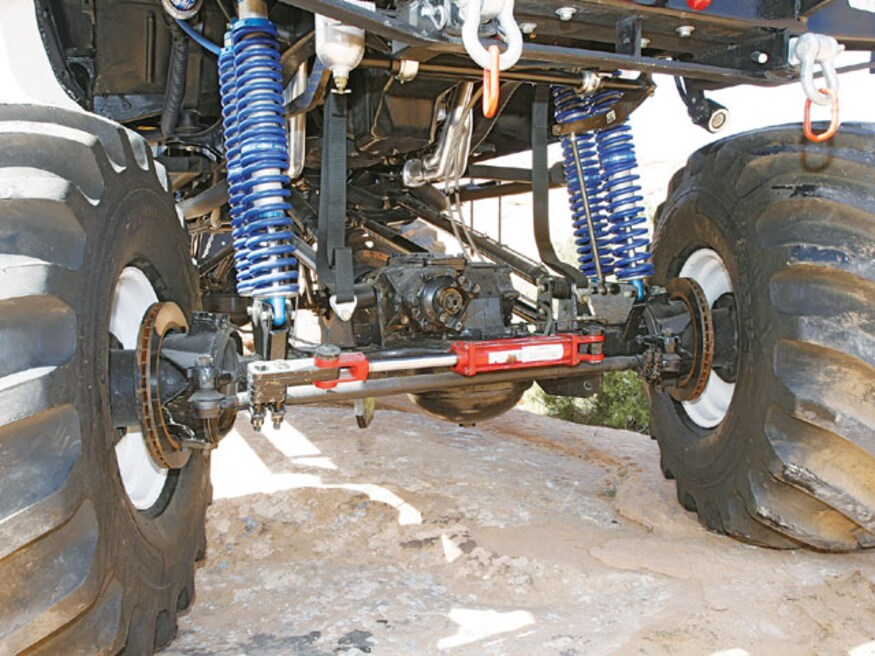 Denver chevy truck front suspension