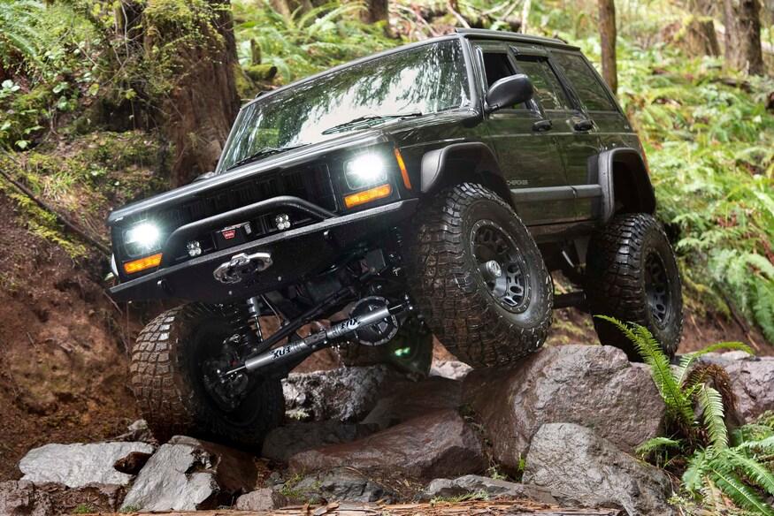 Jeep Xj Gets Next Level Suspension