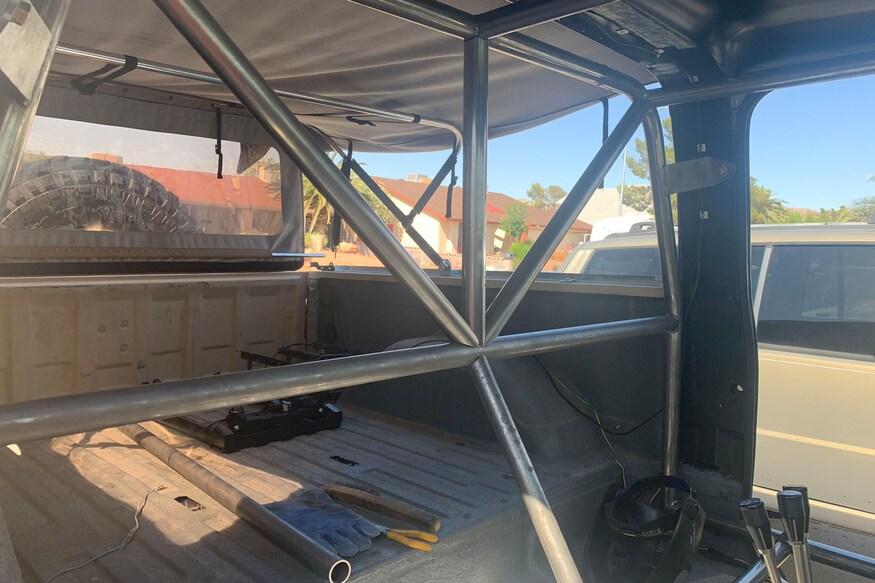 27 1984 chevy k5 blazer cage install